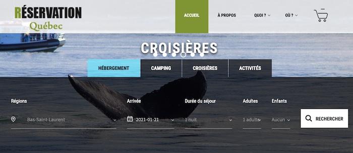 Réservation en ligne - Réseau Touristique - Réservation Camping - Tourisme Cote-Nord / Destination
